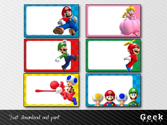 Super Mario Party Invitations is Beautiful Design To Make Lovely Invitation Sample