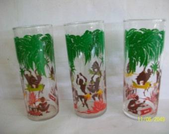 Libby's [3] three native dancer glasses