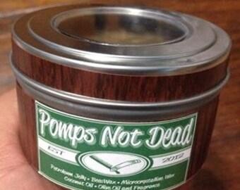 OG Pomps Not Dead pomade in original packaging