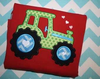 Valentine's Tractor