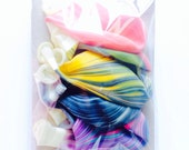 """Marble Balloons / YOU Pick the Colors / 11"""" Party Balloons / Pink / Blue / White / Purple / Black / Navy / Yellow / Green"""