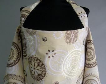 Nursing Cover,Breastfeeding Nursing Cover,Nursing scarf,Hooter Hider, Nursing Cover Apron,Brown,Purple,Beige