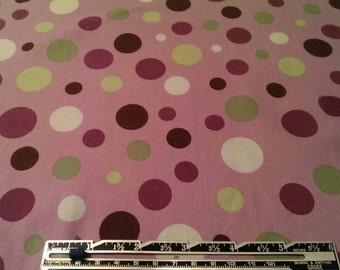 Michael Miller Lolli Dot Purple Fabric