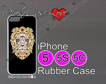 iphone 5 case - iphone 5s case - iphone 5c case -  sugar skull iphone 5 case - sugar skull iphone 5s case  - sugar skull iphone 5c case - S4