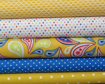 Summer Paisley Picnic Bundle - 1.25 yards in total