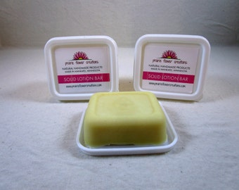 Cocoa Butter Solid lotion bar, Dry skin, Soft skin.