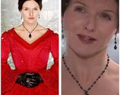 Doctor Who Mercy Hartigan Necklace Earrings Set The Next Doctor Made to Order