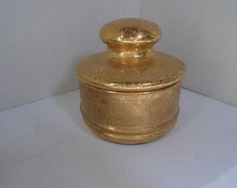 Vintage Gold Encrusted Box