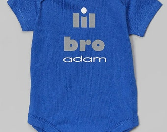 Personalized lil bro Bodysuit