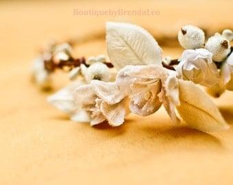Vintage Inspired Flower Crown