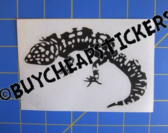 Leopard Gecko Decal/Sticker 4X3