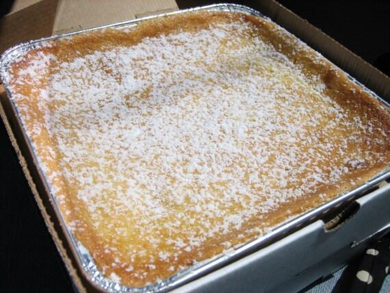 Gooey Louie Butter Cake Recipe