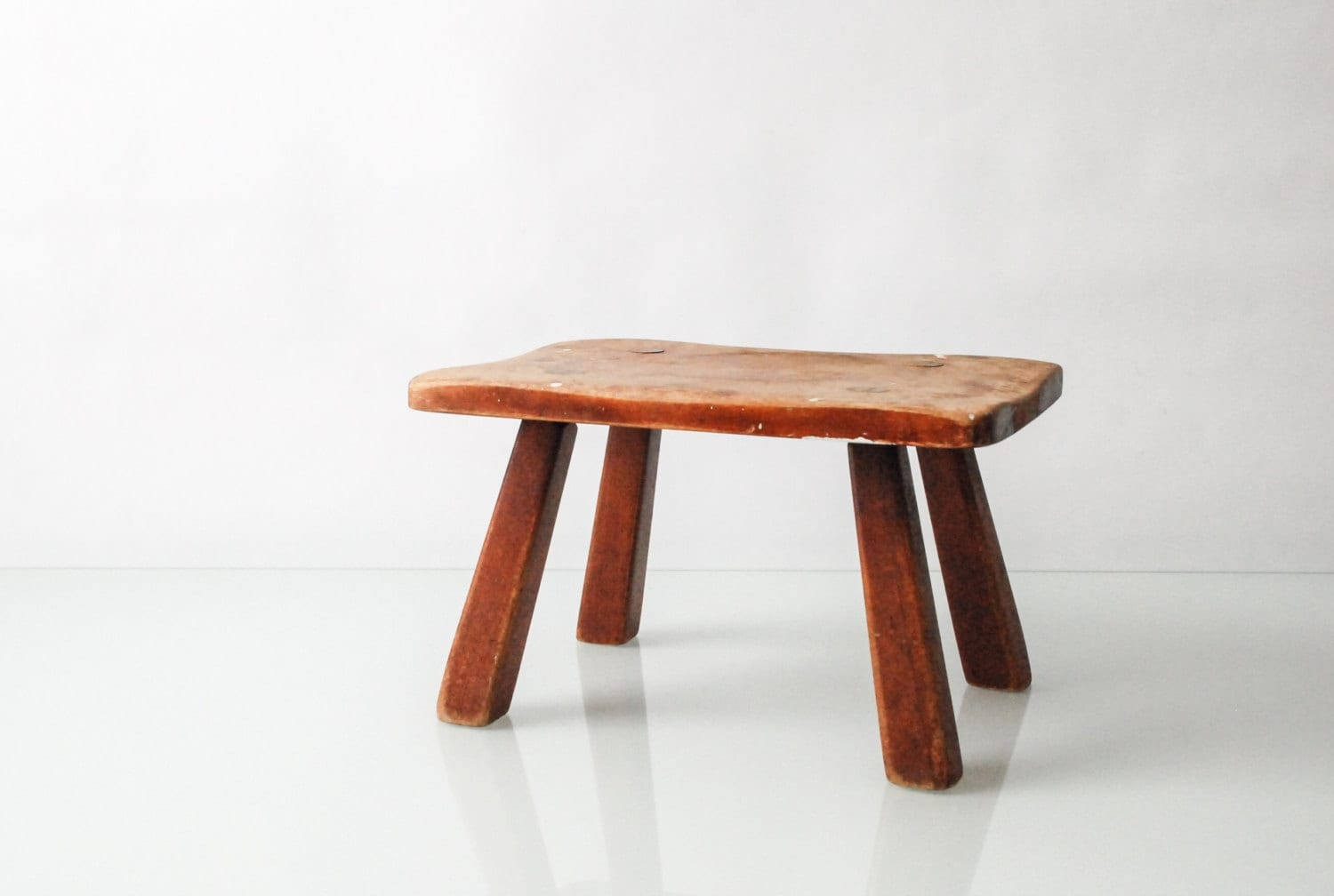 Foot Stool Wood Foot Stool Small Stool Farm Milking Stool