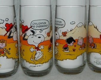 1971 Camp Snoopy Collection United Feature Syndicate Inc McDonalds