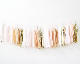 Select Your Own Colors>FREE US SHIPPING>>> Vintage Pony Tassel Garland >> Fully Assembled
