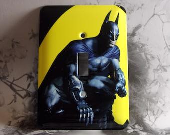 Metal Batman Light Switch Cover - Batman Returns - Single Toggle