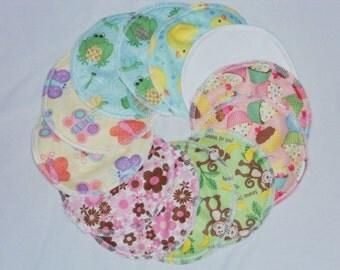set of 6 pair- Breastfeeding Nursing Pads Leakproof Reusable/washable