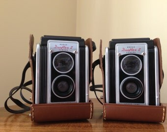 Pair of Kodak Duaflex II Cameras