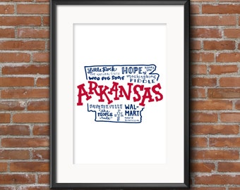 United States Prints — Arkansas