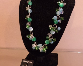 "Necklace ""Summer Evening"""