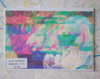 "Glitch Art print ""amy3.jpg"""