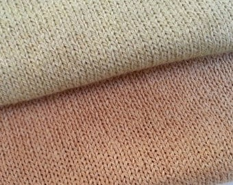 Grown-In-Color Cotton Jersey by the Half Yard