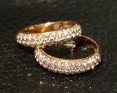 Pink Diamond Rings Natural Color Stack 14K Rose Gold Engagement Wedding Anniversary