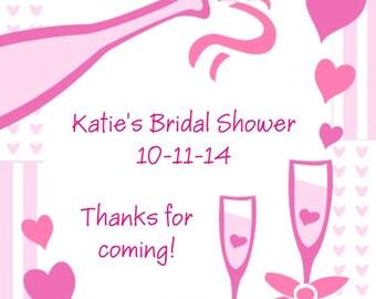 60 Bridal Shower Favor Tag