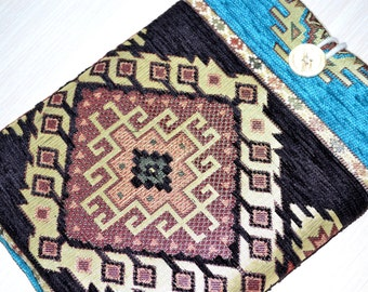 "KILIM- 14"" Laptop case, 15 inch Macbook Pro Case, Laptop Case 15"", Macbook Retina 15.4"", 15.6 inch Laptop Sleeve, Macbook Pro 15 inch Case"