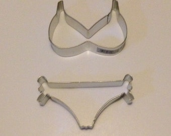 String Bikini Top and Bottom Cookie Cutter Set