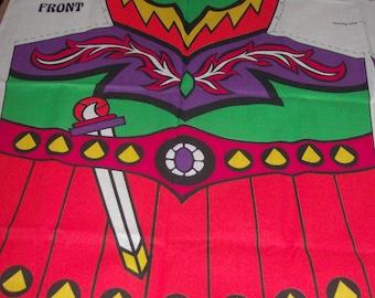 fabric panels to make Halloween costumes