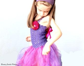 E-Book Kleid Tutu, Tütü Balletkleid Häkelanleitung