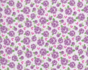 Riley Blake Lovey Dovey Collection C3654- 1/2 yard