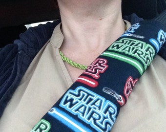 Star Wars Lightsaber Logo Seatbelt Cover