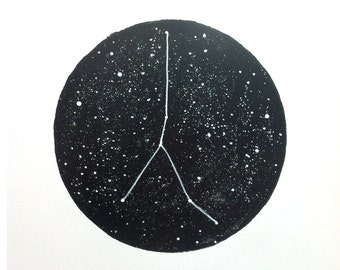 Cancer Constellation Print