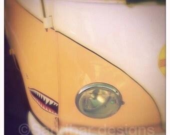 4 x 4 photo card-Cowabunga VW bus
