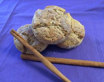 Fresh Gluten Free Cinnamon Scones!