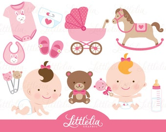 Baby girl clipart baby clipart 15018