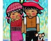 Children's wall art, Pirates