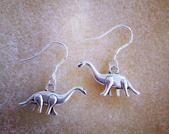 Dinosaur Earrings (brontosaurus)