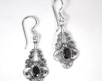 Bali Design Onyx Earring