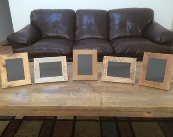 5x7 reclaimed barn wood picture frames