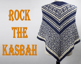 Rock the Kasbah Yarn Kit with Beads, Stitch Markers and your choice of colors