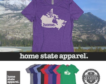 Home State Apparel Canada Home Shirt Women's