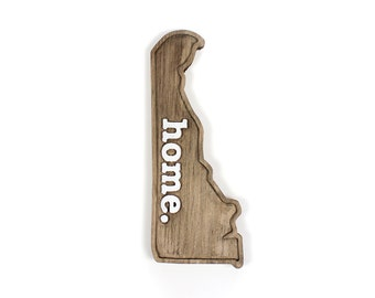 Delaware home. Rough Cut Mill Wood Wall Hanging