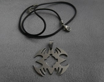 Handmade, Stainless Steel, Geometric Pendant Necklace- Fashion, Jewelry, Women's Gift, Men's Gift