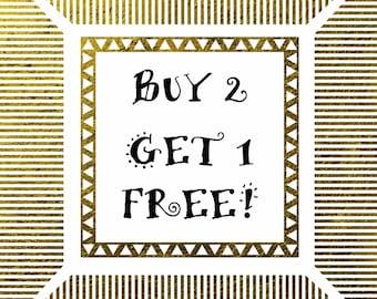 BUY 2 GET 1 FREE Digital Paper Packs Commercial Use