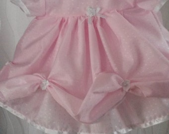 Beautiful Pink Baby Dress / Bridesmaid Dress. Only 1 left in stock ( size 3-6mths)
