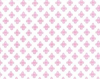 Michael Miller - Petite Fleur de Lis - Item #CX6556-ROSE-D