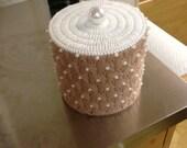 Plastic canvas toilet paper cover
